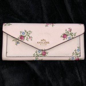 Floral Coach Wallet